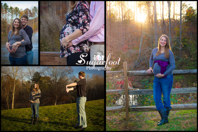 Charlotte NC Maternity session natural light photographer